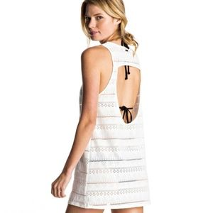Roxy Crochet Swim Cover Dress